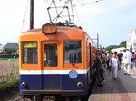 ローカル線銚子電鉄犬吠埼駅にて