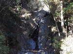 大山の二重の滝