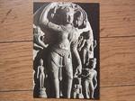 インドの仏展の仏伝「誕生」.JPG