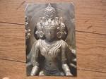 インドの仏展の仏頂尊勝坐像.JPG