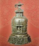 インドの仏展の奉献塔(ほうけんとう).png