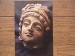 インドの仏展の菩薩頭部.JPG