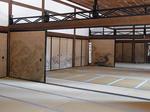 京都龍安寺庫裡内部の広間1.JPG