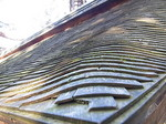 京都龍安寺石庭を囲む塀の屋根2.JPG