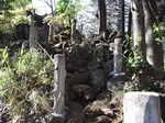 鳩森八幡神社富士塚裏側階段.JPG