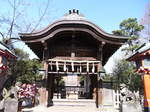 江島神社奥津宮の神門.JPG