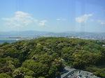 グランドプリンスホテル広島最上階からの眺め.JPG