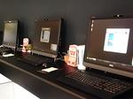 ホテルドーミーイン三島フロントロビーの共用パソコン端末.JPG