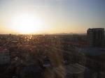 ホテルルートイン中津駅前客室内からの景色2.JPG