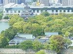 リーガロイヤルホテル小倉客室から眺める広島城址跡.JPG