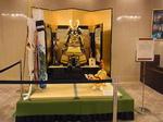 リーガロイヤルホテル広島ロビー五月の節句兜と鯉のぼり.JPG