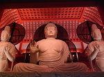 上淀廃寺跡の如来・菩薩巨大仏像三体1.JPG