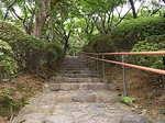 京王百草園入口階段2.JPG