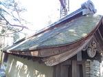 京都龍安寺石庭を囲む塀の屋根1.JPG