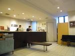 四日市シティホテルのフロント.JPG
