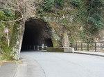 本耶馬溪青の洞門トンネル入り口1.JPG
