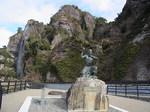 耶馬渓一目八景禅海和尚の像1.JPG