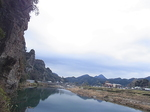 青の洞門付近の景観.JPG